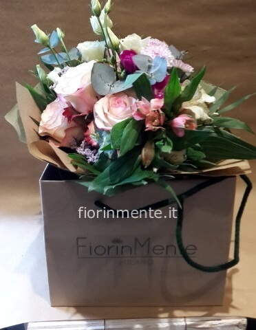 bouquet in box